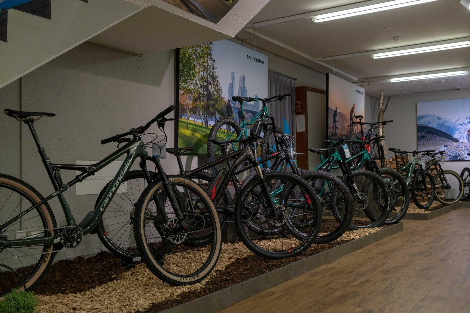 Bauer Sport Bike Ausstellung