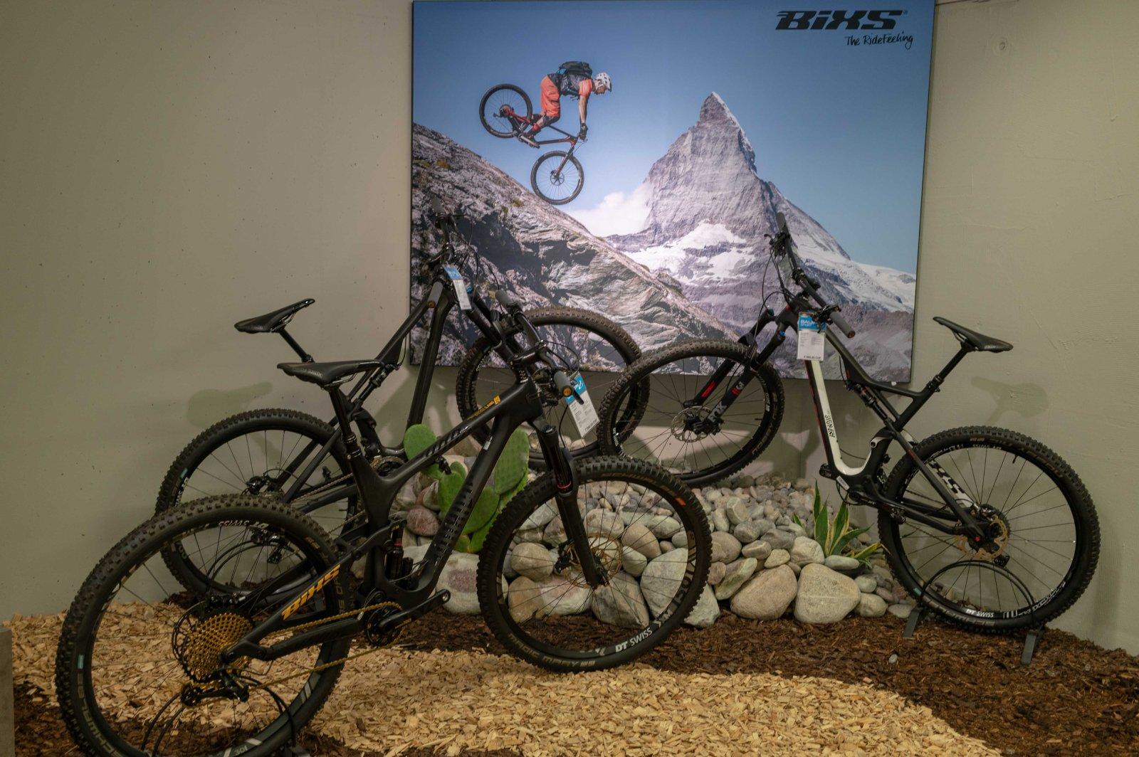 Bauer Sport Bike Ausstellung Bixs