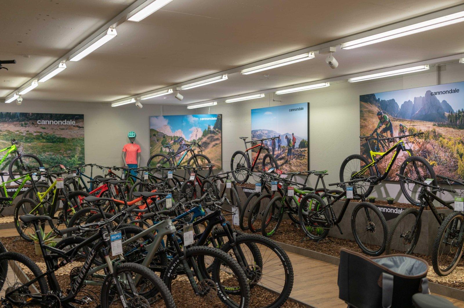 Bauer Sport Bike Ausstellung Cannondale