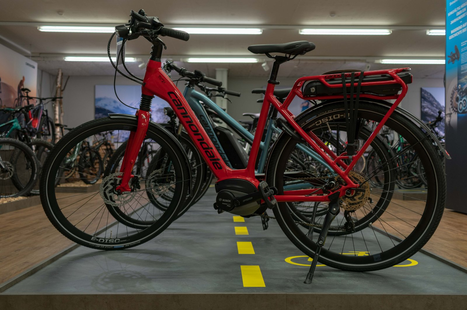 Bauer Sport City Bike Ausstellung