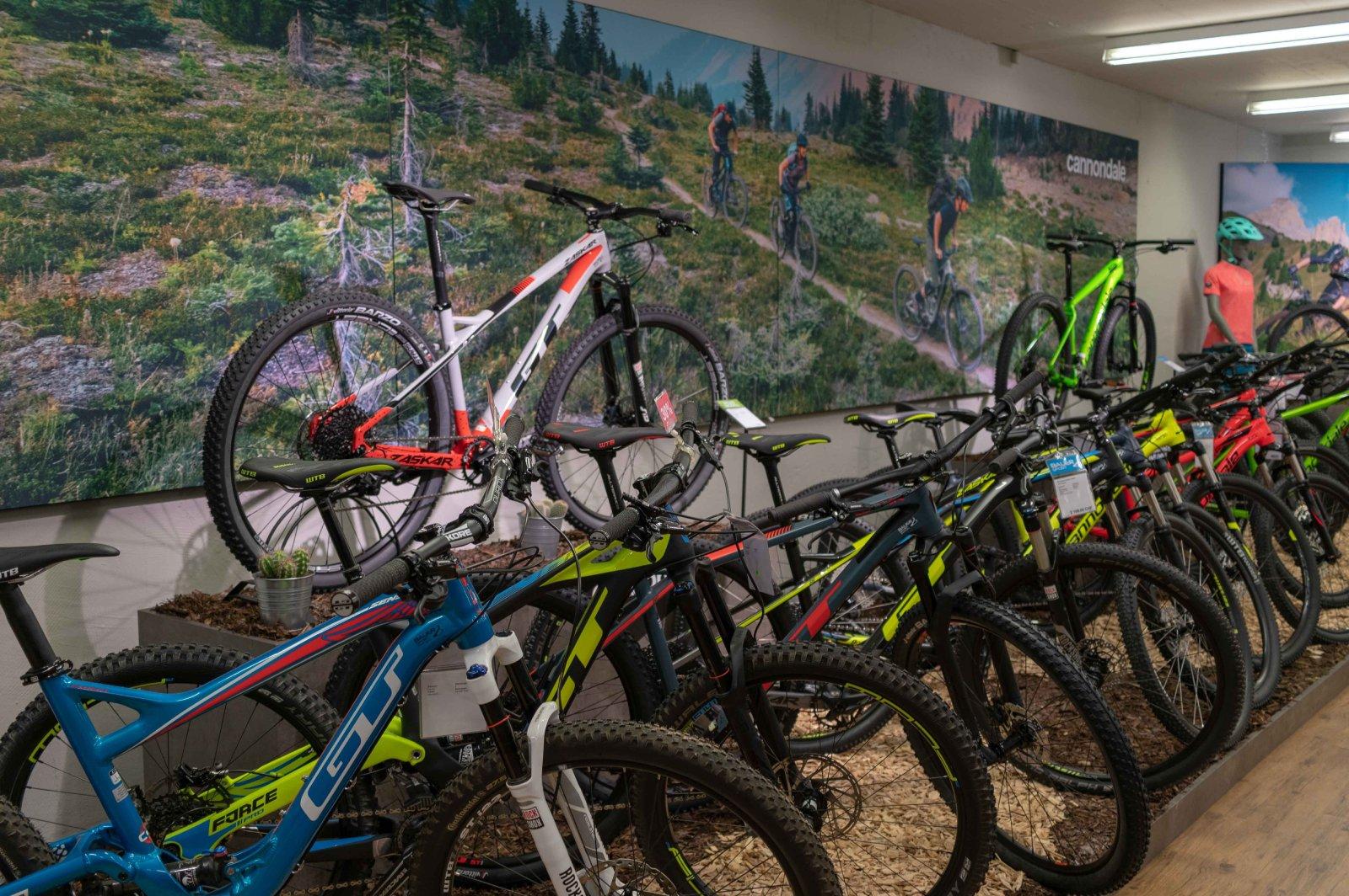 Bauer Sport Ausstellung GT Bikes