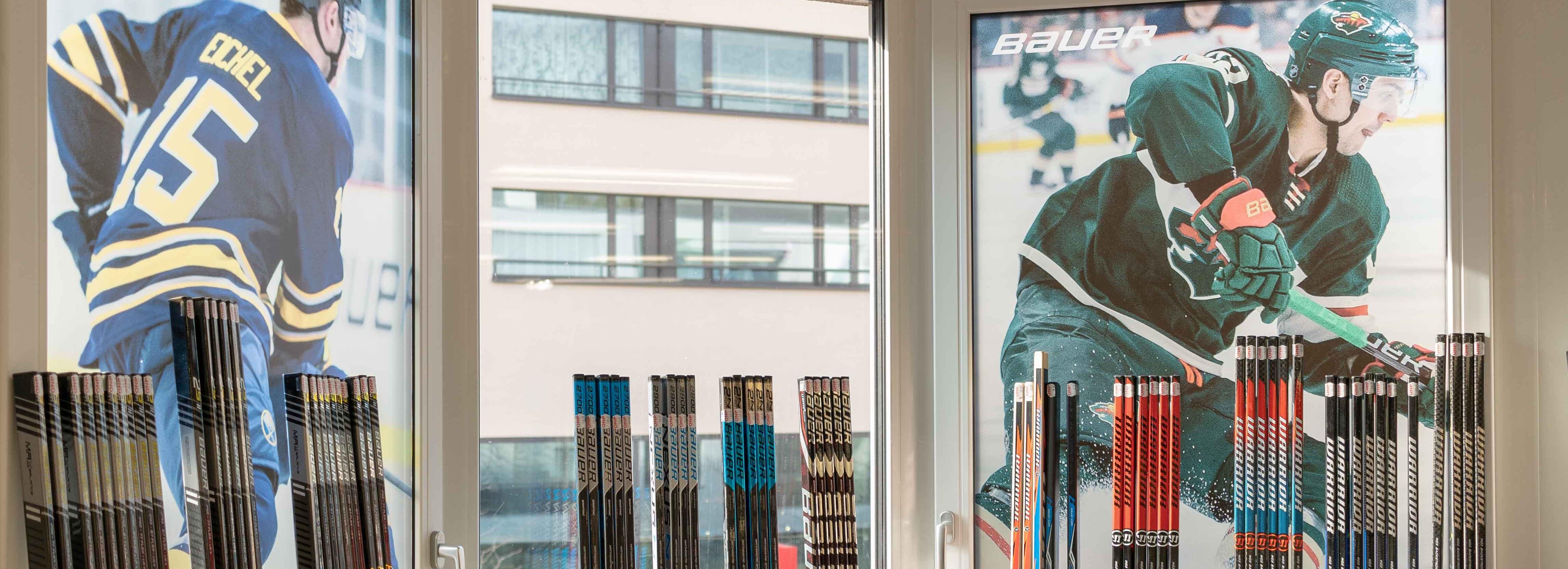Eishockeysortiment Bauer Sport